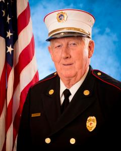 Laurel Fire Department President Bill Hearn