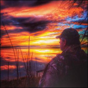 """Sunrise Over Assawoman Bay"" - Scott Lee"